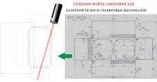 Файл для лазерной резки и гравировки материалов