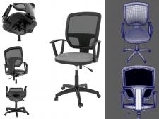 3D модель стула для интернет магаизна.