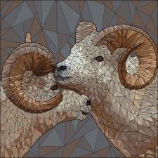 Иллюстрация Polyart