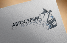 Логотип для автосервиса в Москве