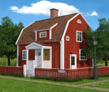 Шведский котедж