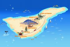 Отрисовка карт Тенерифе