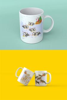 Иллюстрация на чашку
