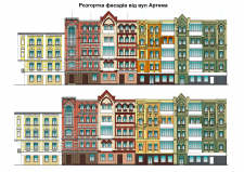 Реновация фасадов по ул.Вознесенский спуск