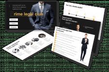Презентация для закрытого юридического клуба