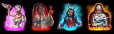 Кровавые персонажи