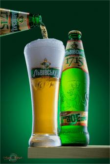 Рекламная фотосъемка пива