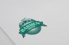 логотип для бармен шоу