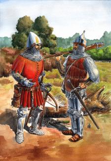 Стрельцы Великого Княжества Литовского рубежа 14-1
