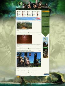 Игровой блог на WordPress