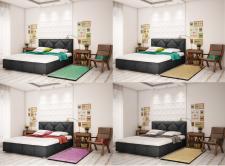 Кровати в интерьере цветокорекция