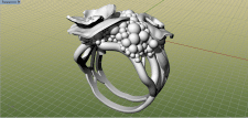 Маки кольцо