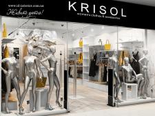 Дизайн интерьера магазина женской одежды г.Киев