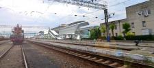 Эскиз-идея ж/д вокзала