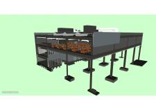 3D-модель административного корпуса (Navisworks) 1