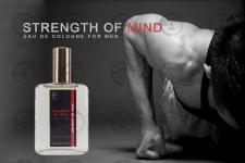 "Банер одеколону ""Strength of mind"" варіант 4"