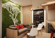 Дизайн визуализация кофейни 3