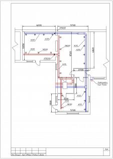 План ОВ для прального приміщення