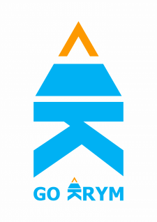 "Логотип для пассажирских перевозок ""GO KRYM"""