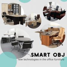 Smart obj - new technologies in the office furnitu