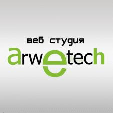 Логотип для веб студии Arwetech