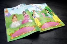 Книга-альбом для девочки