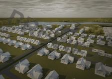визуализация, постобработка, поселок