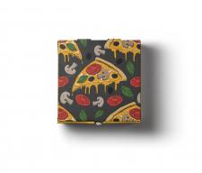 Безшовний паттерн для коробки піци