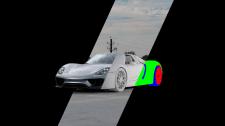 PORSCHE 918 Spyder I CGI