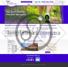 Редизайн сайта визитки стоматологической клиники