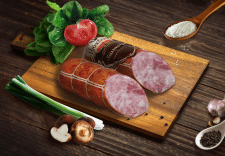 Реклама колбасы (все составные элементы)