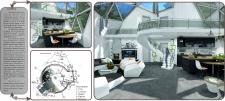Дизайн интерьера геодезического купольного дома