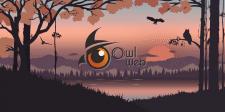 Параллакс слайд для портфолио OwlWeb