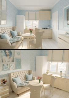 Дизайн интерьера студии