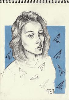 Серия портретов