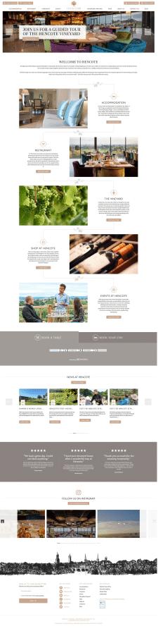 Создание сайта Винодельни с бронированием на WP