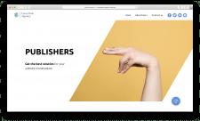 Сайт для рекламной сети
