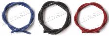 Съемка шнуров из кожи ската