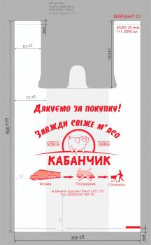 """Дизайн фирменных пакетов """"Кабанчик"""""""