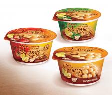 серии упаковок для хумуса