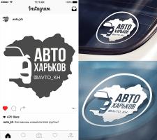 Логотип для Instagram-аккаунта @avto_kh