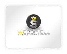 """Логотип дизайн-студии """"WebSingle"""""""