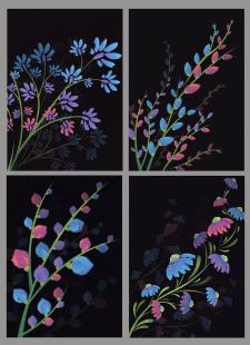 Серия векторных иллюстраций 2