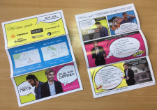 Дизайн листовки для строительной кампании