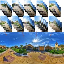 Съемка и сборка панорамы 360°. HDR технология.