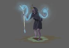 Концепт-арт для игры JRPG - The Silver Arm