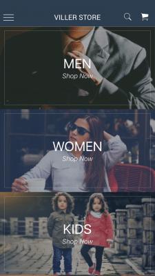 Приложение интернет-магазин одежды