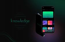 Дизайн IOS приложения knowledge