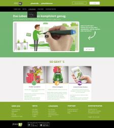 Дизайн сайта для placeb