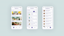 School app - Mobile Design